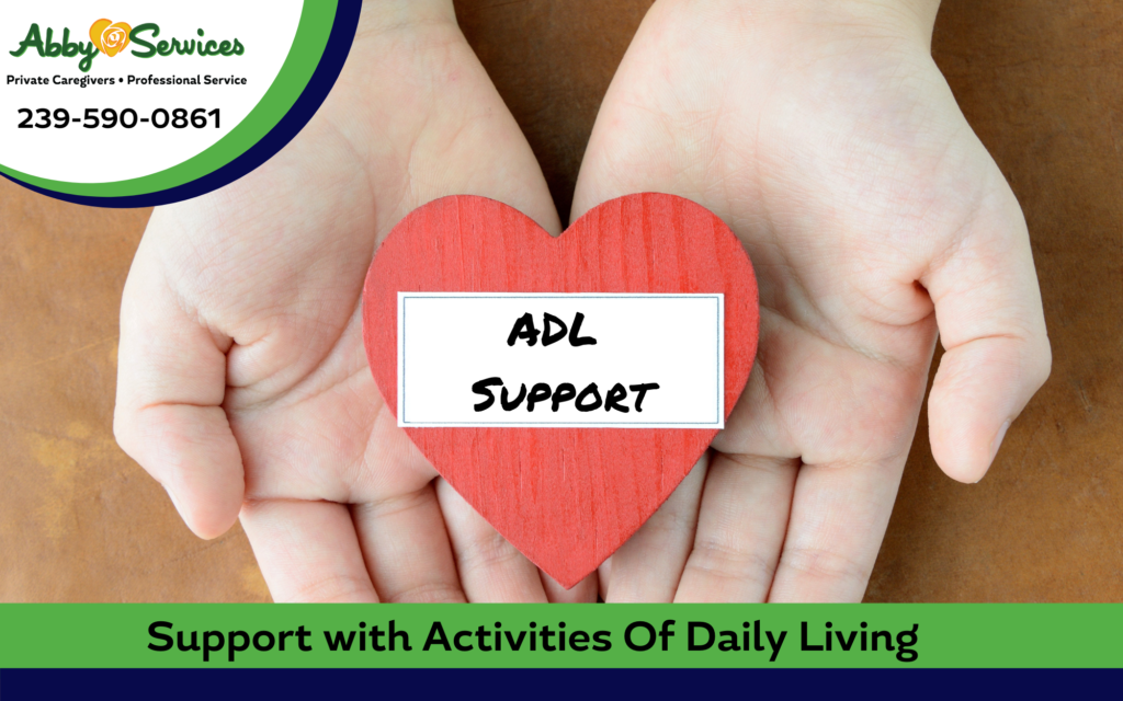 activity of daily living help
