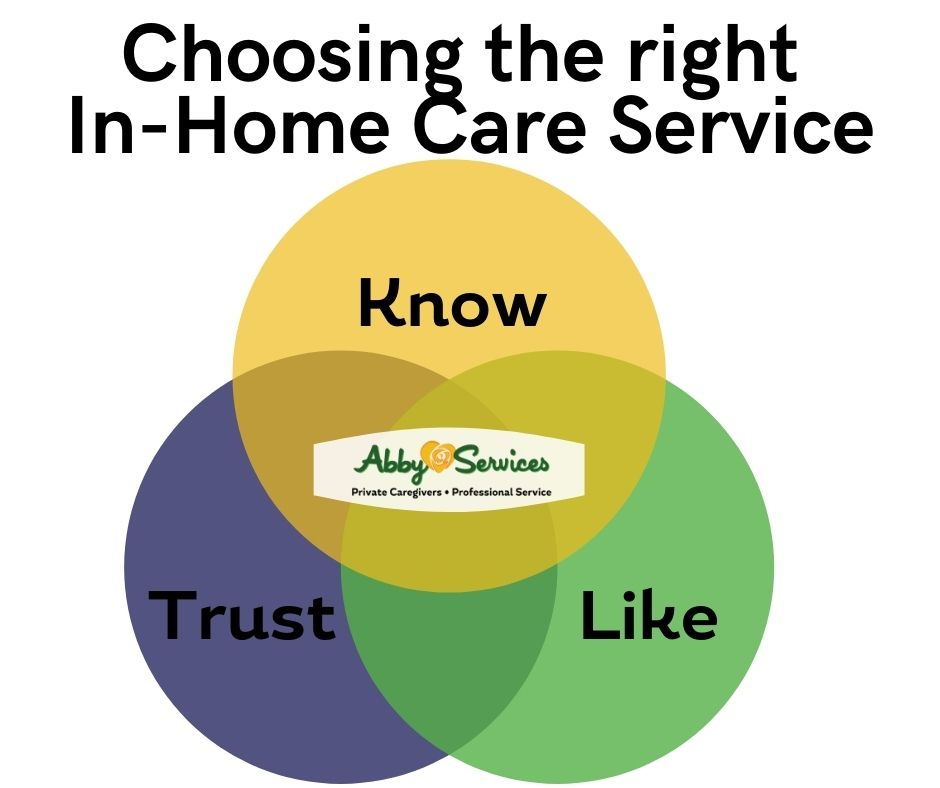choosing in home care services