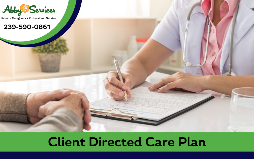 Client Directed Care Plan