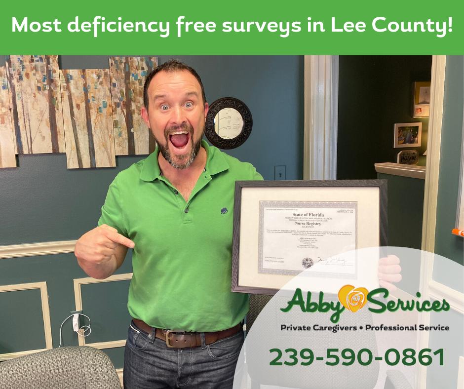 safe senior care = deficiency-free survey