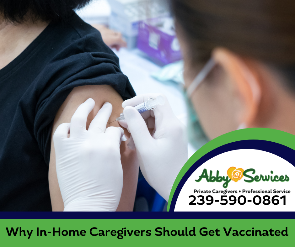 in-home caregiver COVID vaccination