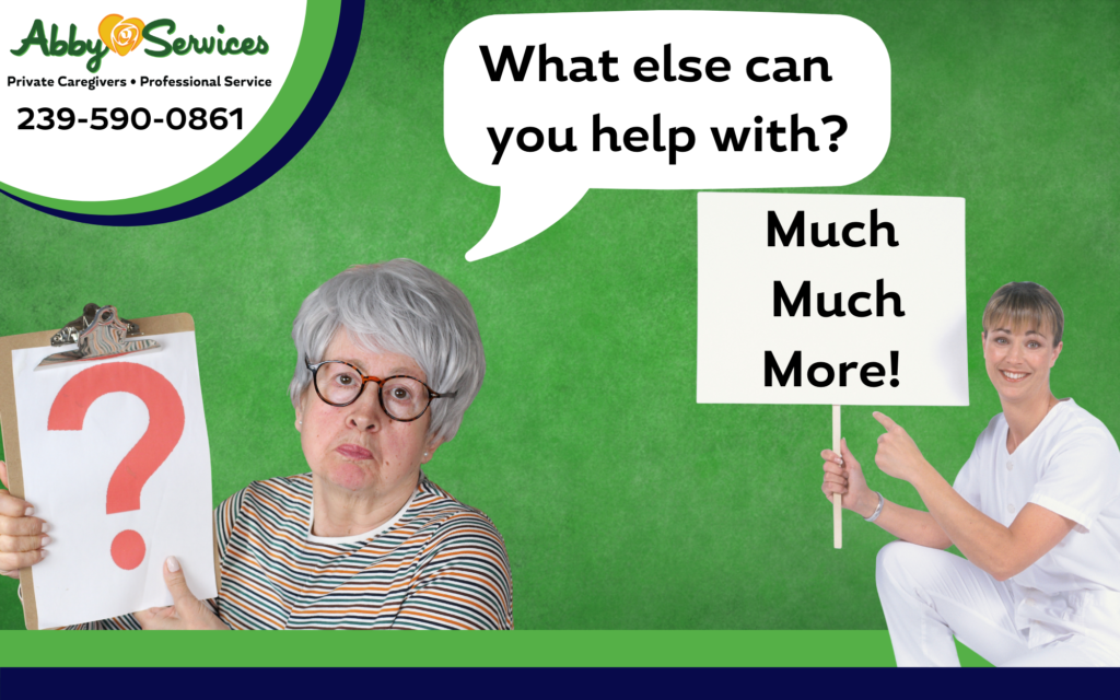 what can your in-home caregiver help with?