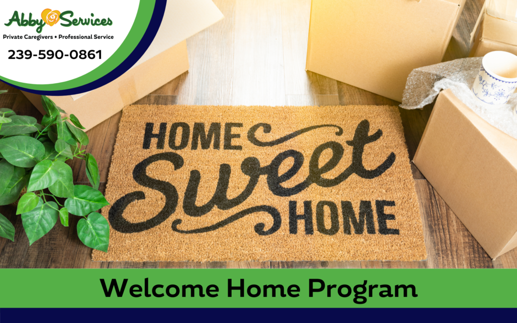 Elderly in home care Welcome home service